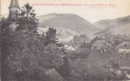 68  Haut  Rhin  -  Sainte  Marie  Aux  Mines  -  Vue  Sur  Le  Pain  De  Sucre - Sainte-Marie-aux-Mines