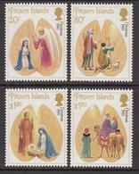 1991 Pitcairn Christmas Noel  Complete Set Of  4 MNH - Pitcairn Islands
