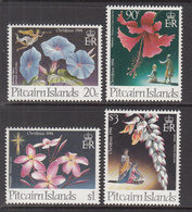 1994 Pitcairn Island Christmas Noel Flowers Fleurs Complete Set Of  4 MNH - Pitcairn Islands