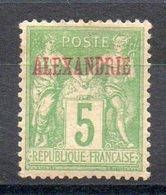 ALEXANDRIE - YT N° 6 - Neuf * - MH -  Cote: 200,00 € - Alexandria (1899-1931)