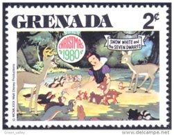 460 Grenada Disney Blanche-Neige Snow White Animals Animaux MNH ** Neuf SC (GRE-106a) - Grenada (1974-...)