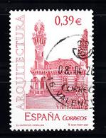 Spanje 2007 Mi Nr 4217, Villa El Capricho Van Antonio Gaudí - 2001-10 Afgestempeld