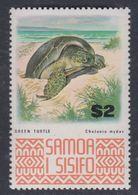 Samoa N° 323 XX Série Courante : Tortue De Mer Sans Charnière, TB - Samoa