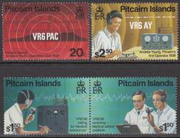 1996 Pitcairn Island Amateur Radio Complete Set Of  4 MNH - Pitcairn Islands