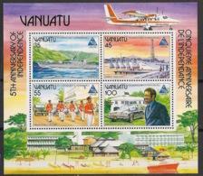Vanuatu - 1985 - Bloc Feuillet BF N°Yv. 8 - Indépendance - Neuf Luxe ** / MNH / Postfrisch - Vanuatu (1980-...)