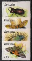 Vanuatu - 1987 - N°Yv. 784 à 787 - Faune / Insectes - Neuf Luxe ** / MNH / Postfrisch - Vanuatu (1980-...)