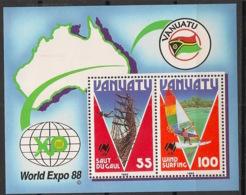 Vanuatu - 1988 - Bloc Feuillet BF N°Yv. 10 - World Expo 88 - Neuf Luxe ** / MNH / Postfrisch - Vanuatu (1980-...)
