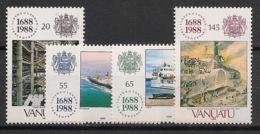 Vanuatu - 1988 - N°Yv. 810 à 813 - Lloyd's - Neuf Luxe ** / MNH / Postfrisch - Vanuatu (1980-...)