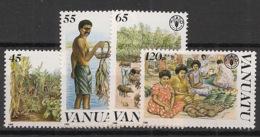 Vanuatu - 1988 - N°Yv. 814 à 817 - Alimentation - Neuf Luxe ** / MNH / Postfrisch - Vanuatu (1980-...)