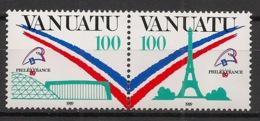 Vanuatu - 1989 - N°Yv. 830 à 831 - Philexfrance 99 - Neuf Luxe ** / MNH / Postfrisch - Vanuatu (1980-...)