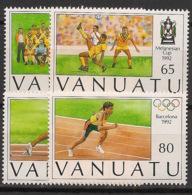 Vanuatu - 1992 - N°Yv. 891 à 894 - Olympics / Barcelone - Neuf Luxe ** / MNH / Postfrisch - Vanuatu (1980-...)