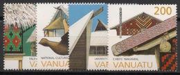 Vanuatu - 1997 - N°Yv. 1043 à 1046 - Architecture - Neuf Luxe ** / MNH / Postfrisch - Vanuatu (1980-...)