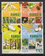 Vanuatu - 2001 - N°Yv. 1106 à 1109 - Exportations - Neuf Luxe ** / MNH / Postfrisch - Vanuatu (1980-...)