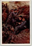 52420350 - Sterbender Soldat - Kriegshilfsbuero Rotes Kreuz Nr. 575 - Missions