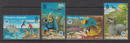 1998 Pitcairn Island Year Of The Ocean Fish Birds  Complete Set Of 4 MNH - Pitcairn Islands