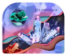 DJIBOUTI 2019 MNH Minerals Mineralien Mineraux S/S - IMPERFORATED - DH1919 - Minerals