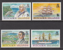 1999 Pitcairn Island 19th Century History  Complete Set Of 4 MNH - Pitcairn Islands
