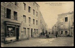 Sainte-Sigolène - Place Et Rue Centrale - Sonstige Gemeinden