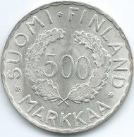 Finland - 1952 - 500 Markkaa - Helsinki Olympic Games - KM35 - Finland