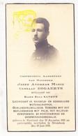 DP Foto - Jozef A. Bogaerts ° Meerhout 1895 † Strombeek Grimbergen 1935 X Elsa Savoye / Ieper - Devotieprenten