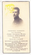 DP Foto - Jozef A. Bogaerts ° Meerhout 1895 † Strombeek Grimbergen 1935 X Elsa Savoye / Ieper - Devotion Images