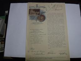CASTELFIDARDO   -- ANCONA  ---  INAUGURAZIONE DEL MONUMENTO ERETTO  AL GENERALE  CIALDINI - Italia