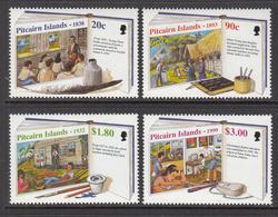 1999 Pitcairn Island Education Teachers  Complete Set Of 4 MNH - Pitcairn Islands