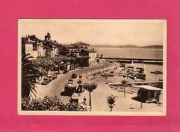 83 Var, Sainte-Maxime-sur-Mer, Un Coin Du Port, Voitures, Bateaux, Animée, (Gualtiéri) - Sainte-Maxime