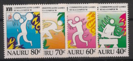 Nauru - 1998 - N°Yv. 438 à 441 - Commonwealth Games - Neuf Luxe ** / MNH / Postfrisch - Nauru