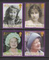 2002 Pitcairn Island  Queen Mother Complete Set Of 4 MNH - Pitcairn Islands