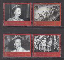 2003 Pitcairn Island  Coronation Complete Set Of 4 MNH - Pitcairn Islands