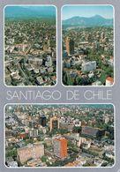 1 AK Chile * Blicke Auf Die Hauptstadt Santiago De Chile - 3 Luftbildaufnahmen * - Chile