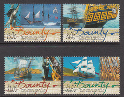 2004 Pitcairn Island  Bounty Ship Replica  Complete Set Of 4 MNH - Pitcairn Islands