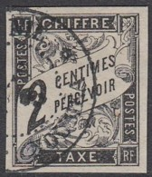 Colonies Générales - Timbre-taxe N° 2 (YT) N° 2 (AM) Oblitéré De Noumea. - Taxes