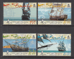2005 Pitcairn Island  Bounty Ship Replica  Complete Set Of 4 MNH - Francobolli