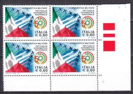 PGL DE0058 - ITALIA REPUBBLICA 2010 SASSONE N°3191 ** QUARTINA - 6. 1946-.. Repubblica