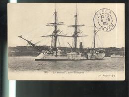 CPA La Meurthe - Aviso Transport - Circulée 1905 - Warships