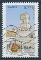 France - Basilique Ste-Trophime à Arles YT 4644 Obl. Ondulations - France