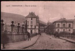 Cp OBERSTEIN - Rue De La Gare N°1923 - Idar Oberstein