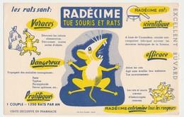 Buvard 20.9 X 13.4 RADECIME Tue Souris Et Rats - Wash & Clean