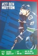 Vancouver Ben Hutton - 2000-Nu