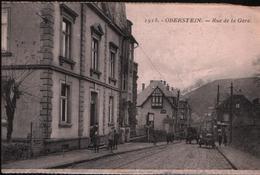 Cp OBERSTEIN - Rue De La Gare N°1918 - Idar Oberstein