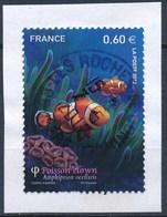 France - Poisson Clown YT 4646 Obl. Cachet Rond Sur Fragment - Oblitérés