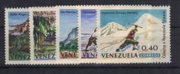 Venezuela 1964 Yvert 702/06 Neufs** MNH (84) - Venezuela