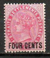 GRANDE BRETAGNE (Ex-cololies) - MALACCA - 1899 - N° 75 Et 78 - (Lot De 2 Valeurs Différentes) - (Victoria) - Malacca