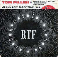 Pochette Sans Disque -Tom Pillibi Grand Prix De Eurovision 1960 - Variéty 17 - - Accessoires, Pochettes & Cartons