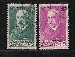 France N°377/377A   Oblitérés Cote 16€ - Frankreich