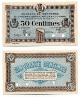 1914-1918 // C.D.C. // CHALON-S/-SAÔNE, AUTUN & LOUHANS // SPECIMEN // 27 Juin 1916 // 50 Cts //  Sans Filigrane - Cámara De Comercio