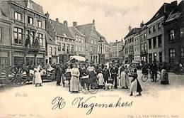 Breda - Havermarkt (top Animatie, Vivat, Uitg. J J Van Turnhout 1902) - Breda