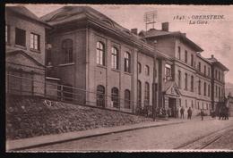 Cp OBERSTEIN - La Gare N°1845 - Idar Oberstein